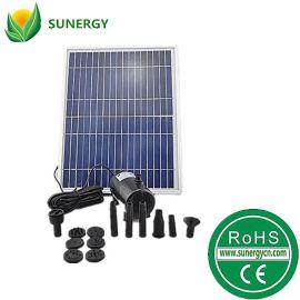 免插电17V10W太阳能喷泉太阳能直流水泵