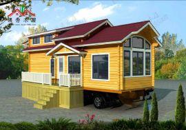 厂家直销多种可移动木屋房车