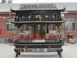 铸铁长方形香炉 仿古铜二层香炉厂 寺庙大纯铜香炉 祖堂铜香炉 佛具用品厂家