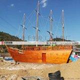 2018大多數景區戶外大型裝飾船 景觀船廠家定做