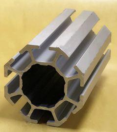 贵州大孔八棱柱展台贵阳工业铝型材小孔八棱柱展览材料