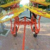 牧草秸稈摟草機懸掛式牽引式摟草機 牧場專用摟草機