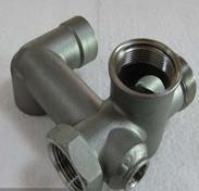 供应广东铸造脱蜡铸造不锈钢水管接头