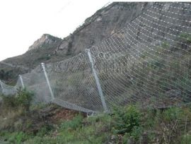 钢丝绳网.主动包山网.边坡防护钢丝网厂家.边坡挂网