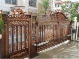 西藏拉薩鋁合金大門,鐵藝大門,別墅銅門