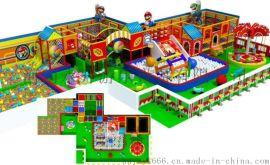 河南淘氣堡海洋風格室內兒童樂園廠家