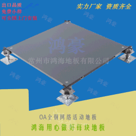 工厂直销鸿海网络高架钢地板 OA写字楼办公室地板