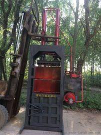 大型150吨汽车壳废旧塑料立式液压打包机半自动