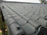 中山塑料树脂屋顶瓦  砖红仿古园林瓦片 彩色别墅装饰瓦