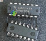 德州仪器 SN74HCT74N DIP14 触发器  正品原装