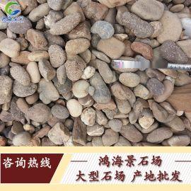 批发纯天然鹅卵石鱼缸石铺路工程石头|石子