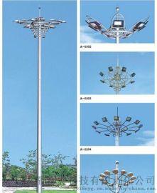 四川高杆燈廠家 LED升降高杆燈報價新炎公司