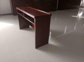 职员折叠培训桌多媒体厅长条桌折叠会议条桌