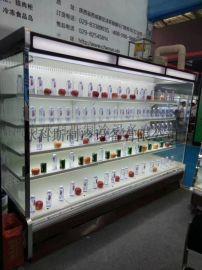 河南漯河市水果保鲜柜商用冰箱立式冷冰柜麻辣烫展示柜