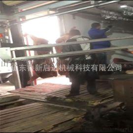 山东鲁新启达猪牛羊白条卸肉机械臂