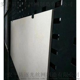 冲孔板陶瓷展架,黑色烤漆冲孔板展示架