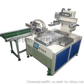 全自动机械手上下料转盘丝网印刷机玻璃镜片印刷机