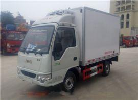 小型冷藏車 江淮康玲3.1米冷藏車