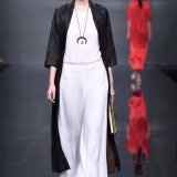 北京大红门  女装折扣品牌真丝碎花连衣裙