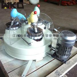 湖北三头研磨机 小型试验研磨机 实验磨粉设备