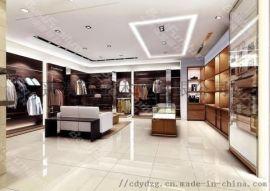 设计成都服装服装店展柜/展示柜台/货柜货架定做工厂