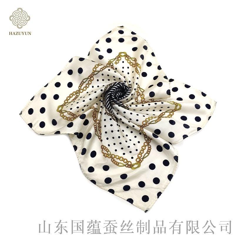 优雅大方的真丝丝巾系法大全