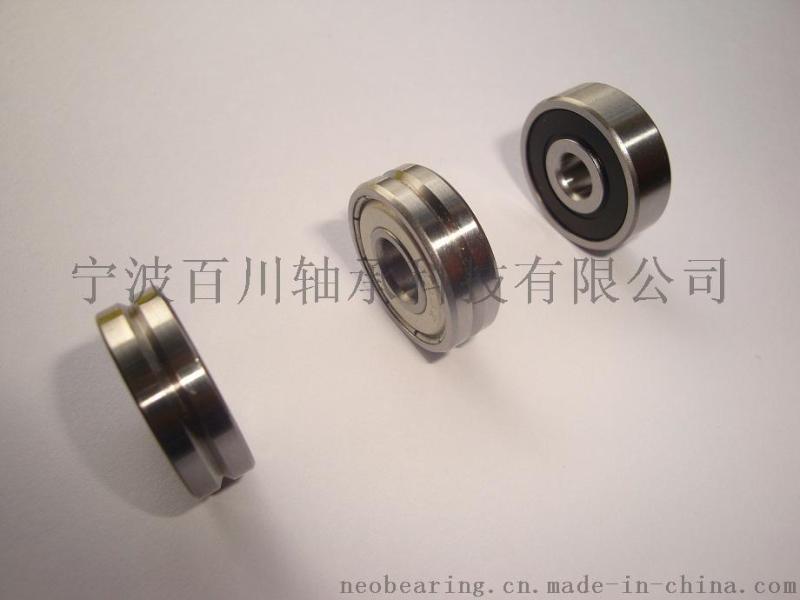 608ZZ 外圈V槽非标轴承 槽深&槽宽?