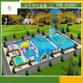 移动支架水池 户外大型支架水池游乐园