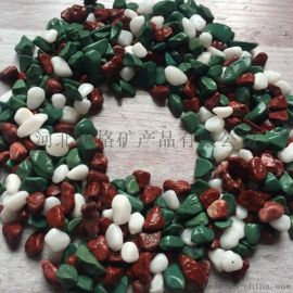 本格供应彩色石子 透水砖专用石子 洗米石