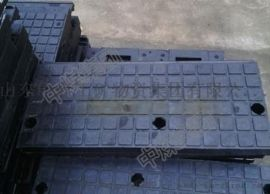 铁路橡胶道口板 新II型道口板P50橡胶道口板