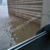 武漢車庫防汛擋水板安裝 鋁合金防洪阻水門廠家定製