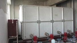 高层玻璃钢成品水箱 搪瓷钢板消防水箱
