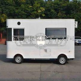 小吃车,手推商用电动四轮移动餐车