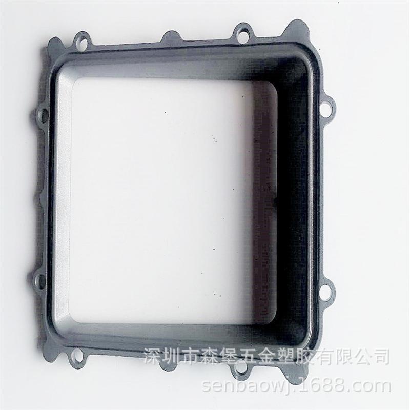 压铸来图开模精密加工 锌压铸 铝压铸 智能锁外壳 压铸件厂家