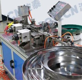 BTP-01S散热片全自动插针机