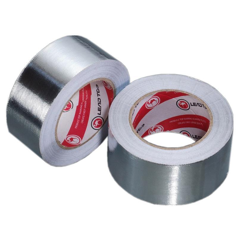 铝箔玻纤布胶带 防火阻燃耐高温纤维布胶带