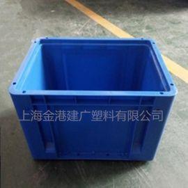 塑料EU周转箱,塑料加厚周转箱、塑料包角物流箱