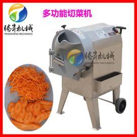 不锈钢根茎类蔬菜切片机 瓜果切丝切丁机