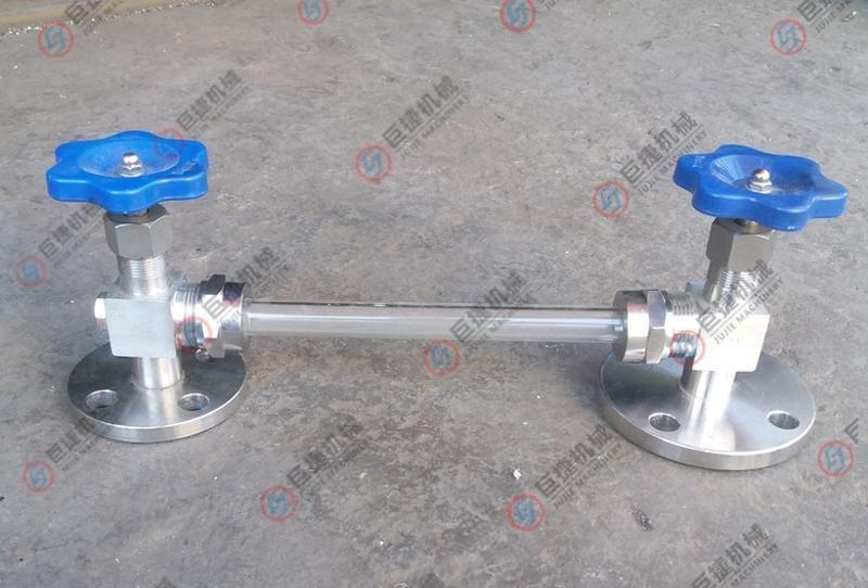 玻璃管法蘭液位計 衛生級液位計 不鏽鋼液位計 DN20法蘭考克
