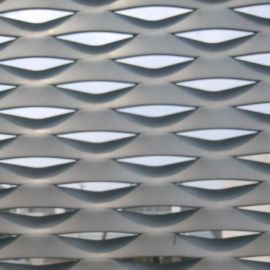 鋁板裝飾網 鋁板拉伸網 菱形鋁板網