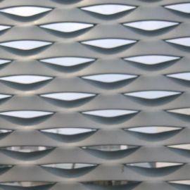 铝板装饰网 铝板拉伸网 菱形铝板网
