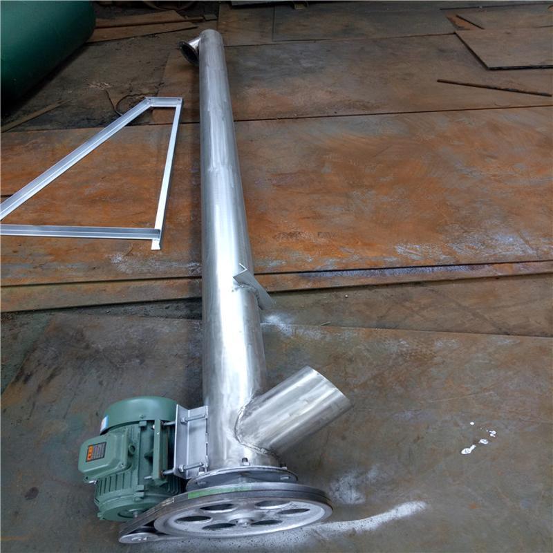 双轴螺旋输送机 螺旋输送机型号 螺旋输送机图片