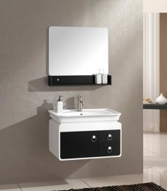 兰泊卫浴夹板浴室柜 浴室柜批发 陶瓷盆柜 FL021