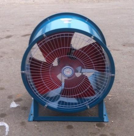 SF5-4低噪声轴流式通风机 固定式圆筒风机