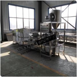 鲜豆家大型三联磨浆机全自动磨浆机免人工厂家直销