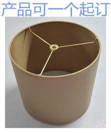 圆筒形布灯罩 圆形布灯罩羊皮纸灯罩