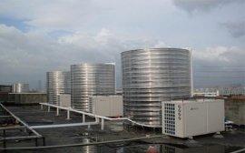 宾馆酒店商用空气能热泵热水器