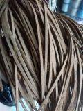 韩国绒皮绳 超纤皮条加工