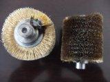 刷辊  铜丝刷辊 缠绕刷辊 镀铜钢丝毛刷辊