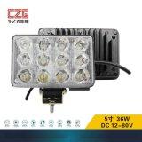 [车之光照明]LED5寸方型工程车灯